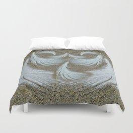 Sand Surfer Duvet Cover