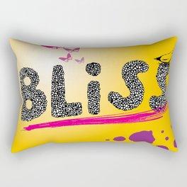 bliss. Rectangular Pillow