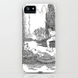 Le Jardin Secret iPhone Case