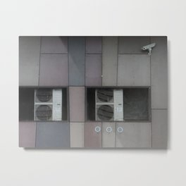 architecture of inhuman Metal Print