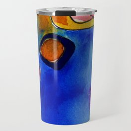Magical Thinking No. 2A by Kathy Morton Stanion Travel Mug
