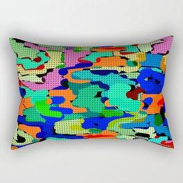 Bright modern youth pattern Rectangular Pillow