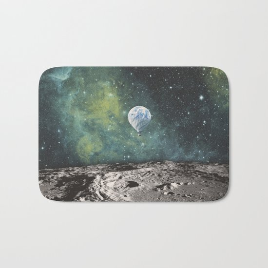 FLOATING THROUGH SPACE Bath Mat