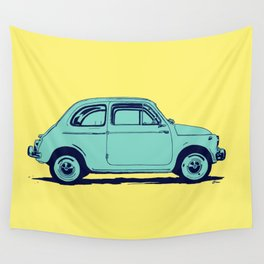Fiat 500 Wall Tapestry