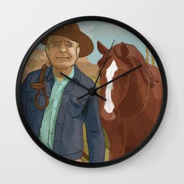 The Lone Ranger Wall Clock