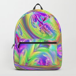 Psychedelic Alien Life Backpack