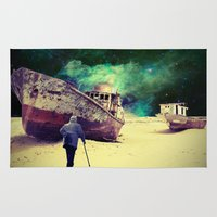 ship Area & Throw Rugs featuring Ship by Cs025