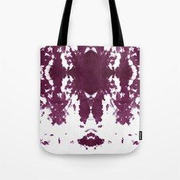 Velvet Kumo Shibori Plum Tote Bag