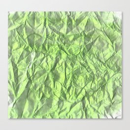 glossy green Canvas Print