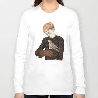 film Long Sleeve T-shirts featuring Kes  by Sandra Dieckmann