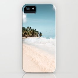 Lonely Tropical Island iPhone Case