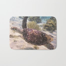 Grand Cayman Turtle Bath Mat