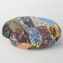Patchwork Gypsy Floor Pillow