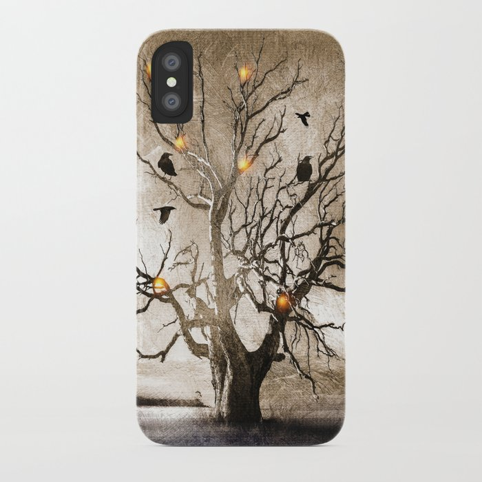 Raven christmas I - HOLIDAZE iPhone Case