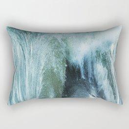 Abstract 45 Rectangular Pillow