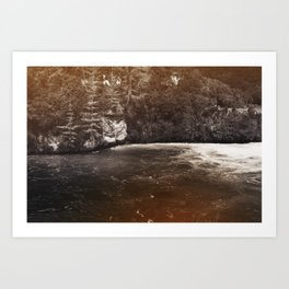 Huka Art Print