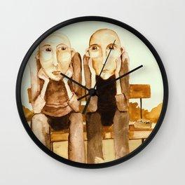 Old Bold friends Wall Clock
