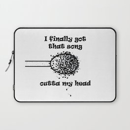 Song Out of My Head Laptop Sleeve