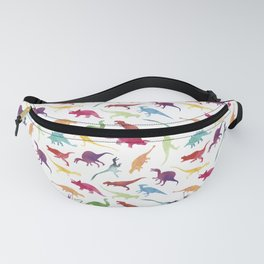 Watercolour Dinosaurs Fanny Pack