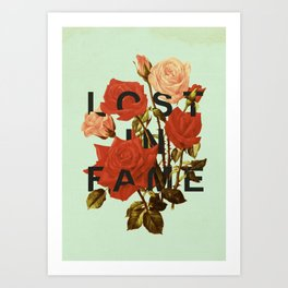 Lost In Fame Art Print