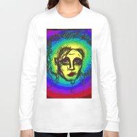 eddie vedder Long Sleeve T-shirts featuring Scissor hands eddie proud by lostfounders
