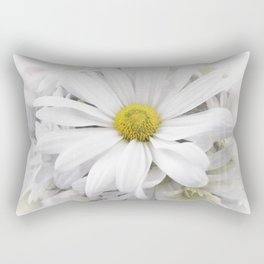 White African Daisy at Barthels Farm Market Rectangular Pillow