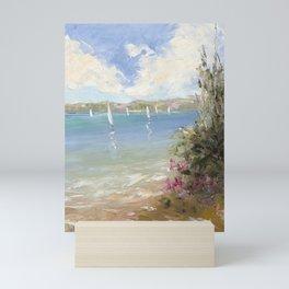 Pink Beach Mini Art Print