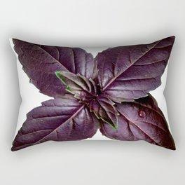 Purple Basil Rectangular Pillow