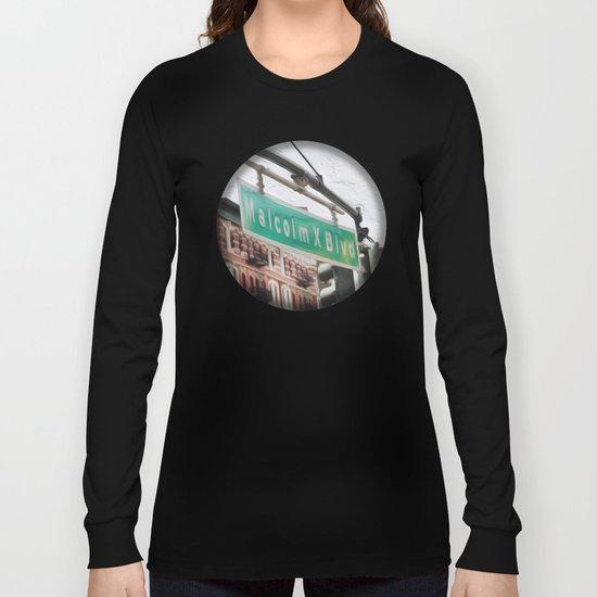 Malcom X Blvd Long Sleeve T-shirt
