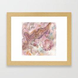 Pink Opal Framed Art Print