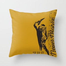 Yellowhammer NoMoore (Gold variation) Throw Pillow