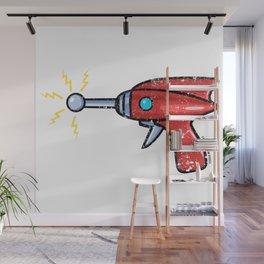 Ray Gun Wall Mural
