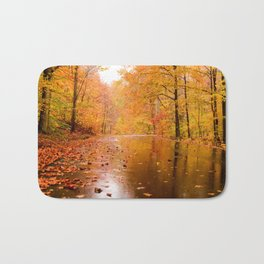 Fall Holidays Bath Mat