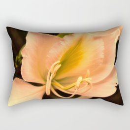 Bauhinia in golden light Rectangular Pillow
