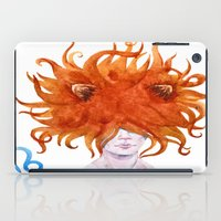 leo iPad Cases featuring Leo by Aloke Design