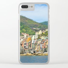 Cinque Terre Italy Clear iPhone Case