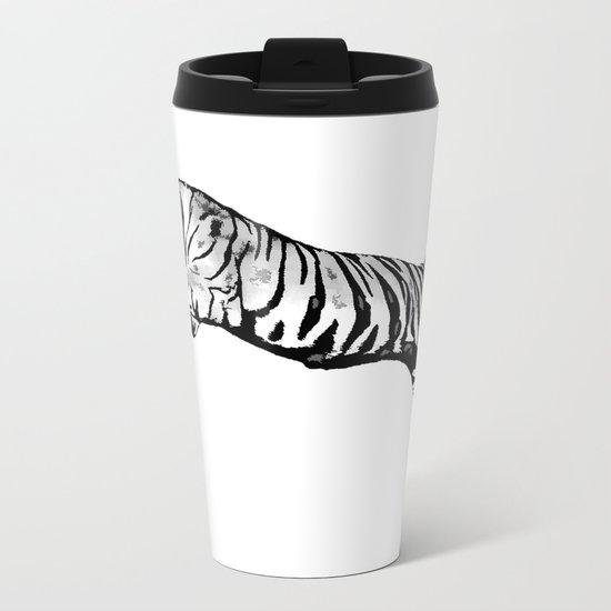 Flying Tiger Metal Travel Mug