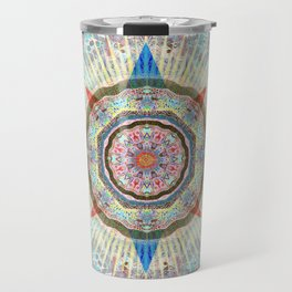 Heart Mandala of a Star Travel Mug