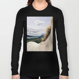 Horse Back Long Sleeve T-shirt