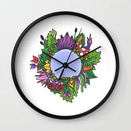 A Little Runcible Pond Wall Clock