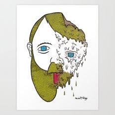 Face Melter Print Art Print