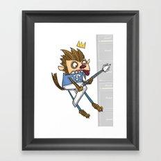 Howl of the Wolf... Framed Art Print