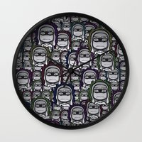 grumpy Wall Clocks featuring GRUMPY by piemboons