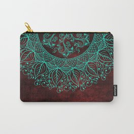 Mandaleaf - Red Carry-All Pouch