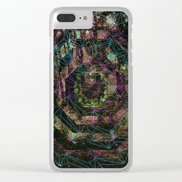 Crystal Portal Clear iPhone Case