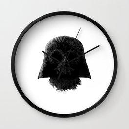 Vader (White) Wall Clock