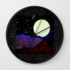 Valley of the Moon Wall Clock
