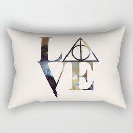 Love Always Watercolor Rectangular Pillow