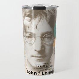 john lenon-imagine Travel Mug
