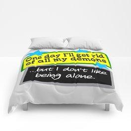 Get Rid Of Demons Comforters